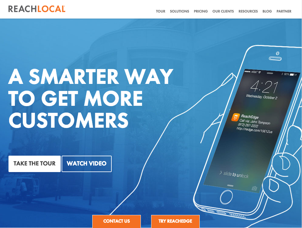 ReachLocal Website